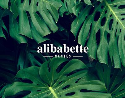 Identité magasin Alibabette Nantes