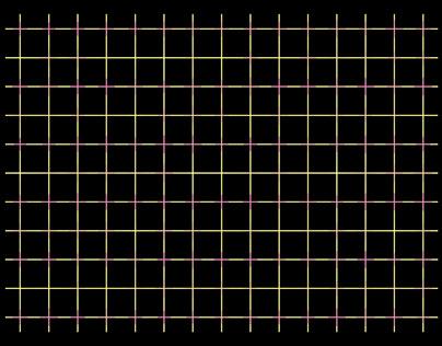 light lattice illusion