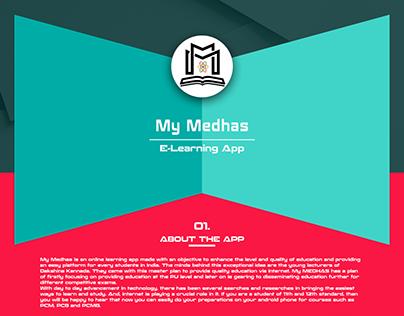 My Medhas - E-Learning App