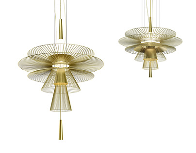 Gravity lighting collection for Forestier