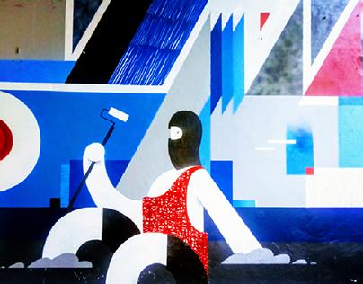 Τοιχογραφία στην Αθήνα - Athens Wall Design