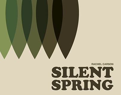 """""""Silent Spring"""" Mock-Up Covers"""