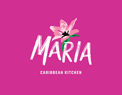 Maria Caribbean Kitchen: Brand Identity
