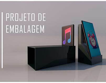 Design de embalagem para smartphone