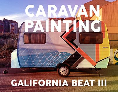 CARAVAN PAINTING at GALIFORNIA BEAT 2017