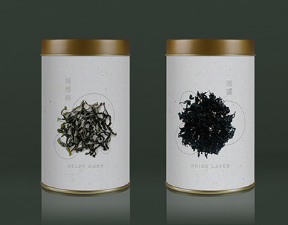 Packaging : Dried Seaweed