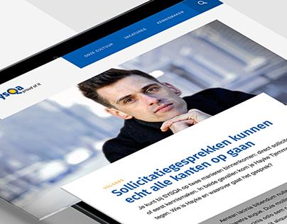 Sysqa - Corporate website design