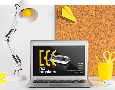 website project for the RadBrackets software house