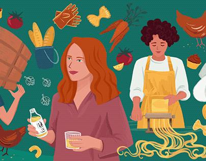 International Women's day 2021 - for Farmdrop
