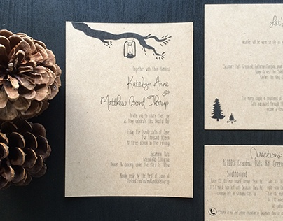 Thorup Wedding Invitation