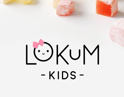 Lokum Kids - Logo Design