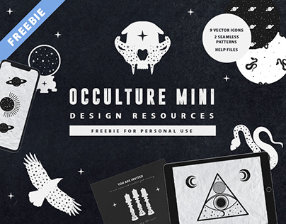 FREEBIE: Occulture Mini Design Resources