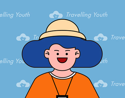 Travelling Youth Character Design