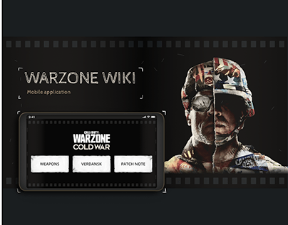 Warzone Wiki Mobile Application