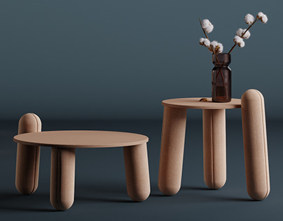 Roundish Coffee Tables