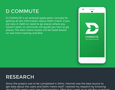 D Commute