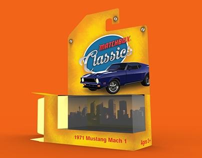 Matchbox cars: Packaging design