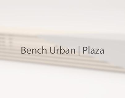 Bench Urban   Plaza