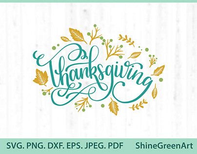 Thanksgiving Oak Leaves