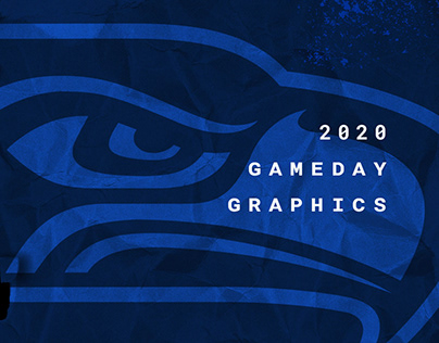 2020 Seahawks Gameday Graphics