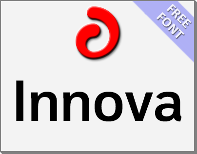 Innova (Font Family) + Free Font