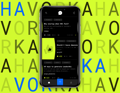 Havorka App - anonymous chats for developers