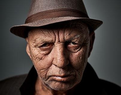 Portraits Old Man Bad