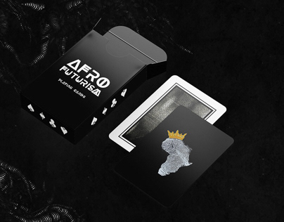 AfroFuturism Playing Cards: Art Direction