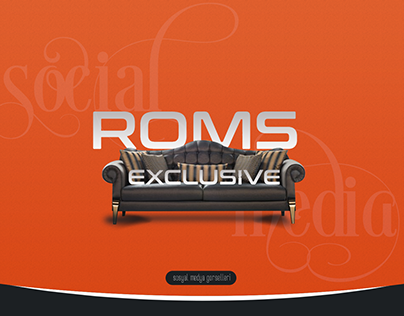 Roms Mobilya Sosyal Medya Tasarımları
