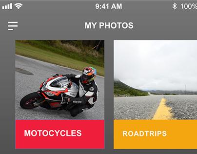 XD Daily Creative Challenge Day 2 - Photo Album App