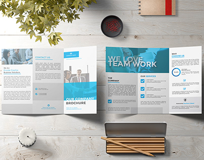 Tri-Fold Brochure | 05 FREE MOCKUP [DOWNLOAD]