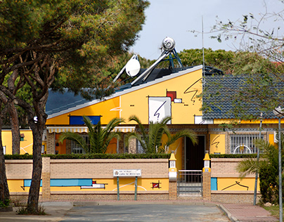 Facade in Spain