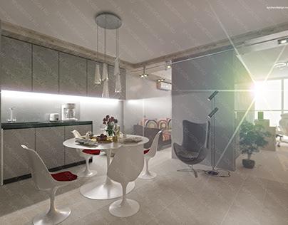 Проект квартиры по ул. Окулова 18 Пермь