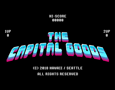 THE CAPITAL GOODS - HAWAII - T-shirt Design