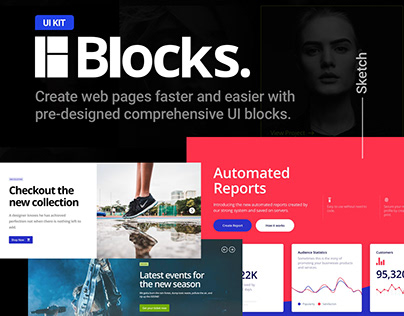 Blocks UI Kit — CreativesCastle