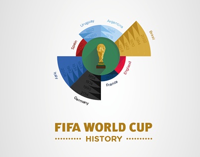 FIFA World Cup History Infographic