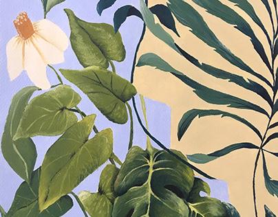Jungle artwork - Painting