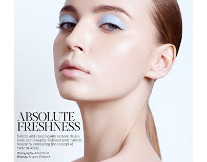 ABSOLUTE FRESHNESS for VELVET Magazine'18