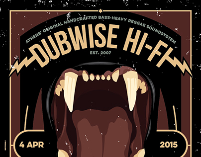 DUBWISE HI-FI IN SESSION - APRIL 2015