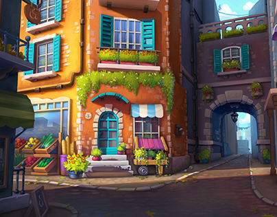 Background environment, concept