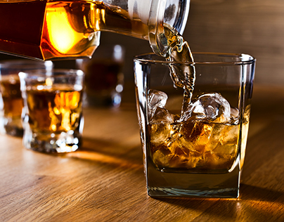 Indian Liquor | Blended Whisky in India | On The Rock