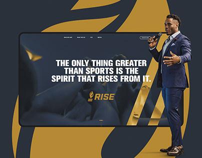 RISE Website Design
