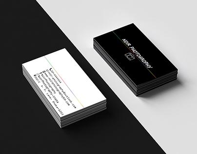 Demo Business card design.