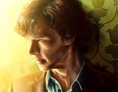 Sherlock and Doctor Who Fanart