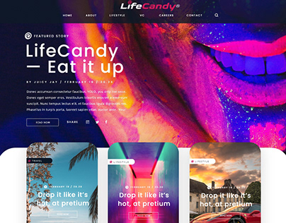 Life Candy New Home - Layout