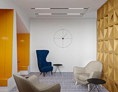 Дизайн-проект офиса страховой компании Евроинс