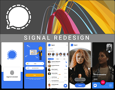 SIGNAL MOBILE APPLICATION REDESIGN