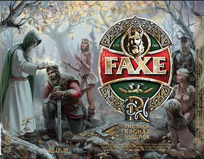 """""""The Saga of Ragnar lothbrok the"""" for FAXE №2"""