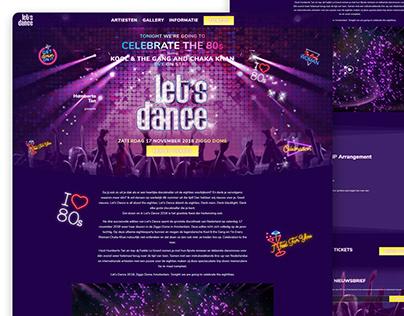 Let's Dance 2018 Website