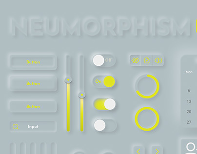 Neumorphism UI Kit